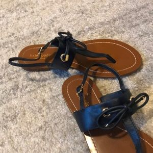 Kate Spade bow sandals, like new